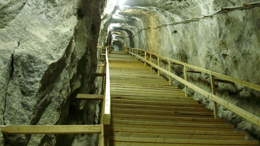 paraji sóbánya lépcső