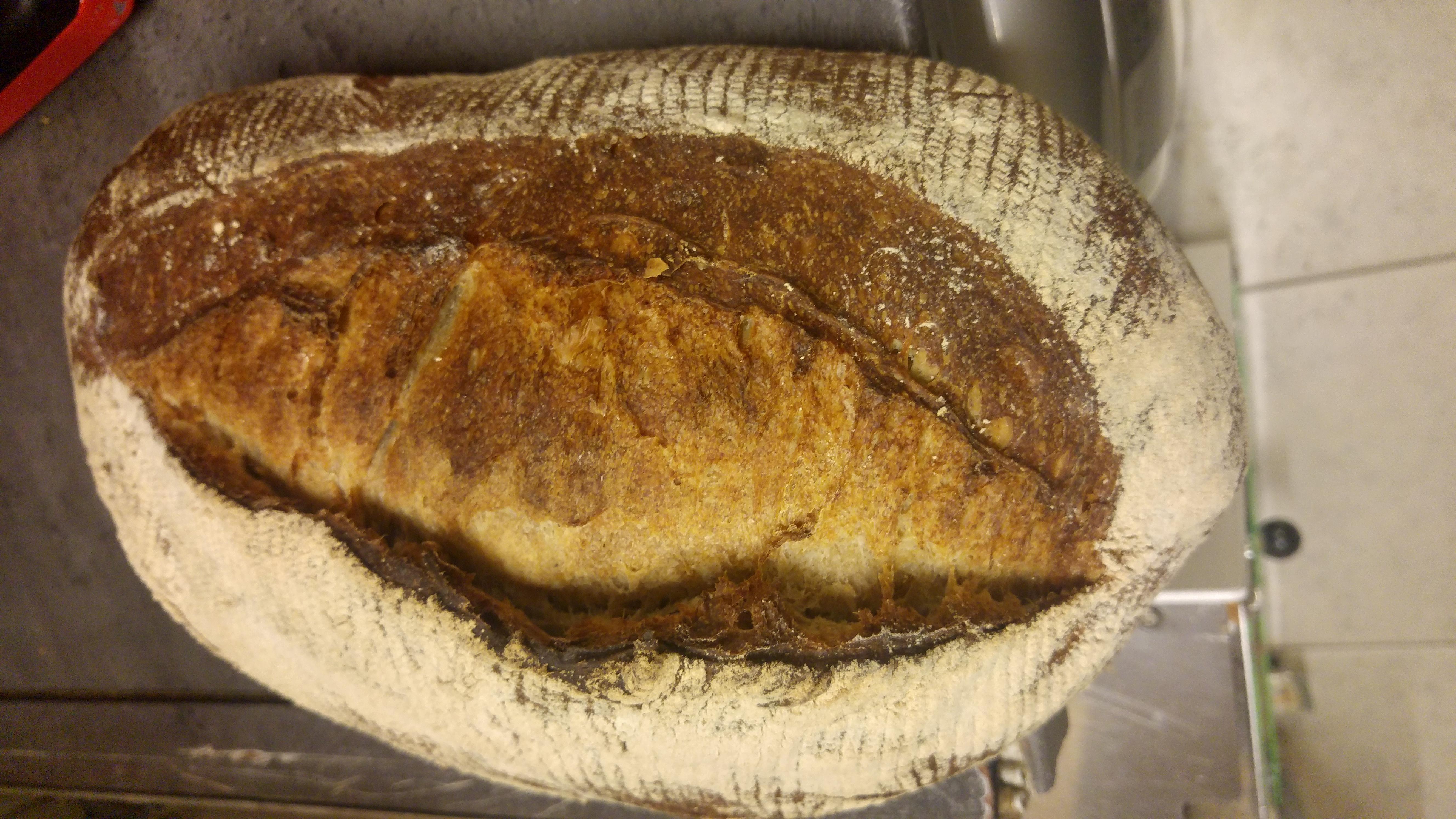 vadkovászos kenyér